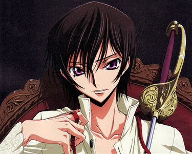 Lelouch vi Britannia from Code Geass. If you watched the series you know why. :D