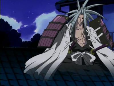 Amidamaru is Yoh's Guardian Spirit from Shaman King