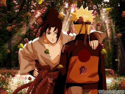 Naruto...Although, I'd Любовь To Be Him In This Picture xD *Hugs Sasuke So Hard And Never Lets Go*
