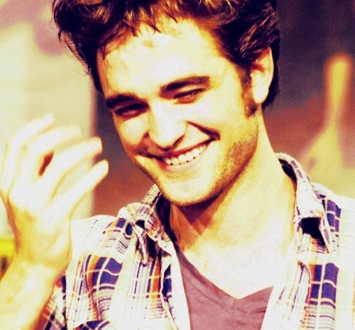anytime Rob smiles,I smile<3