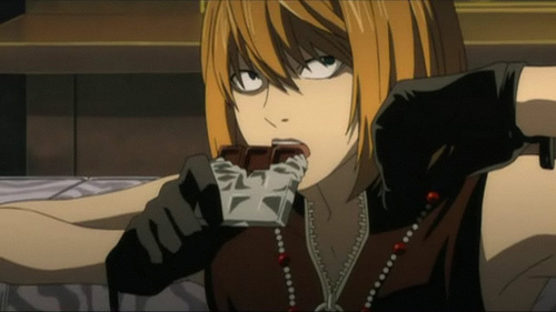 """Mihael """"Mello"""" Keehl from Death Note."""