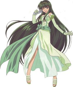 Touin Rina from Mermaid Melody.... Virgo!!
