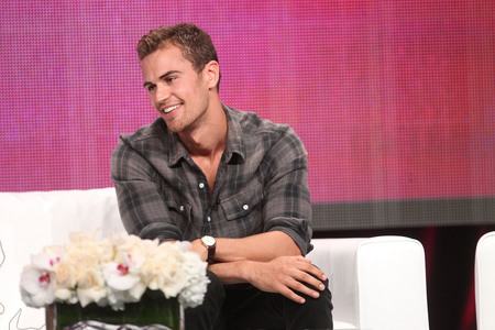 my smokin' hot Theo facing to the left<3