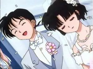 miroku and sango wedding!(its a 日 dream :P ) ~inuyasha