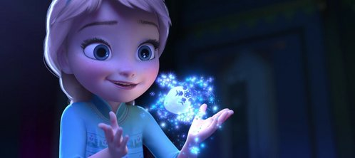 She was born with a frozen heart!