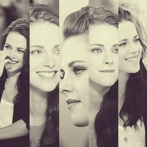 sometimes it's good to break the rules.Here's a b&w pic of K Stew<3