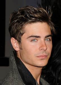 Zac Efron has cool hair<3