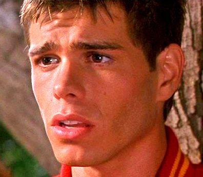Matthew's beautiful brown eyes <333333333