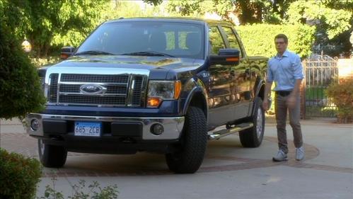 Matthew Von his truck :)