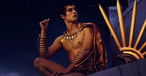 daniel sharman. Literally. He played a god in the movie 'Immortals' he's so beautiful