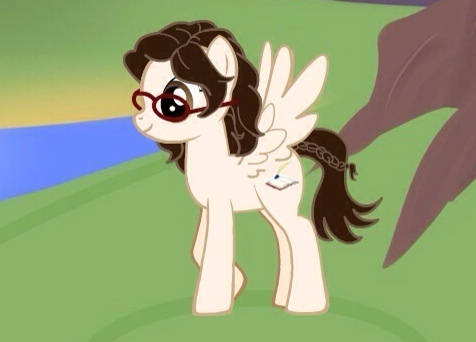 If I was anymore pale, people would have to call me albino! I'd be a pegasus, I'm always craving freedom. A book and quill would be my cutie mark, lire and écriture is just the bestest!