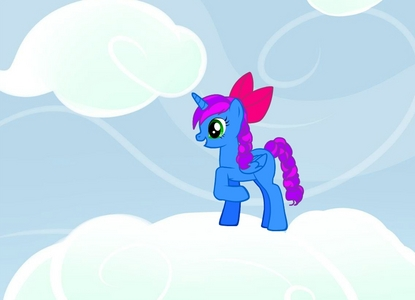 I'm i alicorn becuase i l'amour magic i am the one to talk to if toi are sad my cutie mark isn't,there becuase i don't have a picture yet >.< but is a cerise Cartoon cerise obiosly