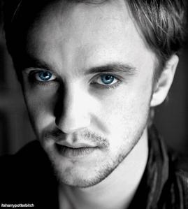 Tom Felton has amazing blue eyes<3