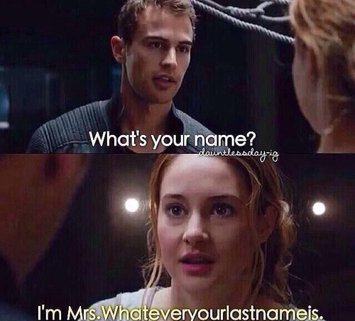 just call me Mrs. Theo James <3