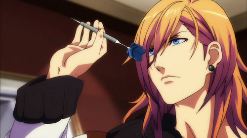 Ren from Uta no Prince Sama.  Pretty much my favorite character. He never gets much screen time. I want an episode that's completely about him.