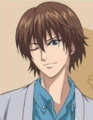 Syusuke Fuji from Prince of Tennis
