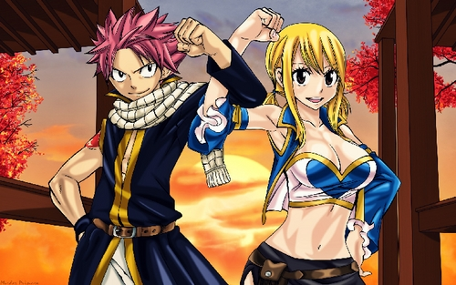 Lucy and sometimes Natsu from Fairy Tail .
