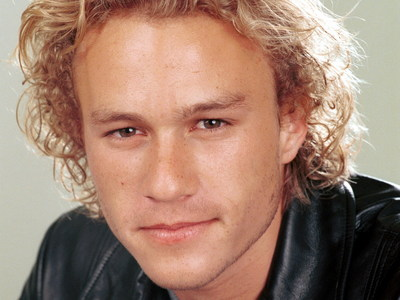 Heath Ledger... I wish he would be alive.