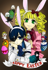 Happy Easter! ('\../') (◕.◕) (,,)(,,)