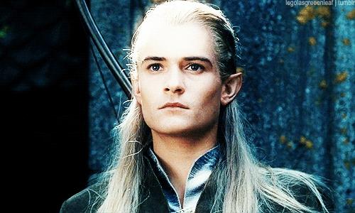 Orlando Bloom as Legolas Greenleaf <3