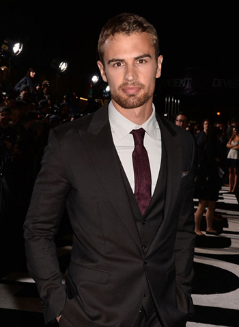 looking dashing is a requirement of sexy Brits like my sexy Theo<3