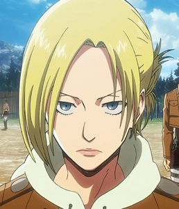 "I'm usually torn between four. :x Annie, Rico, Armin, and Ymir. Time for eliminations. Dun-dun-dun! Ymir - Like her, I can be quite the cynic, though when I give this comparison, most argue that I am much ""nicer"" than she is. I have an undeniable sweet side but if I didn't have a venomous one to counter it I wouldn't be comparing myself to both her and Annie. ...I enjoy annoying people bởi teasing them, another trait we share... I also would go out of my way to protect a certain person, if needed (in case it bothers bạn badly enough, đã đưa ý kiến person is my sister). There may be times where I will also become too confident in my ability to perceive things about others, but I have this ""Krista"" voice in my head that tells me to look before I leap. Hmm, I think I can X her out. Personality-wise, she is still no spiritual animal of mine. I don't feel comfortable taking away the other three: I'm at an equal standpoint here. I possess Rico's ability to assess a situation composedly and think clearly when no one else can, Armin's indirect snark and moral views, and Annie's attitude, as a whole, and intellectualism. Just because of my attitude and outlook, of late (going through a biiit of a depression), I will go with Annie, for now, to make matters simpler."