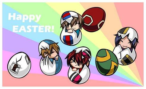 Happy Easter siku from Prince of Tennis!!! :D
