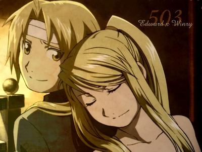 Repeating myself again, but yeah, Edward/Winry.