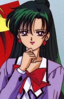 Setsuna Meiou aka Sailor Pluto From Sailor Moon