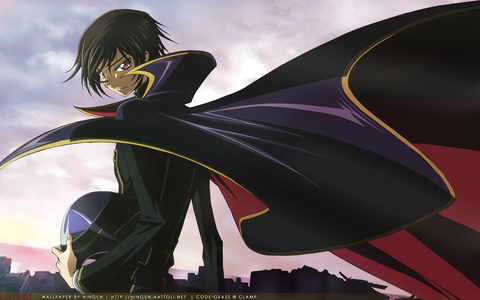 Lelouch vi Britannia from CODE GEASS: Lelouch of the Rebellion (surprised no one gepostet him)