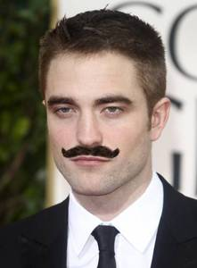 my British babe with a 'stache<3