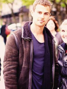 my babelicious Theo in a brown coat<3