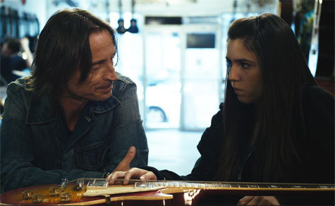 Bobby with his on set-daughter, Savannah Lathem