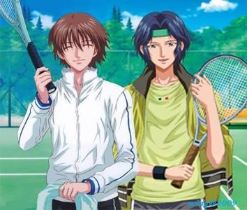 Syusuke Fuji & Seiichi Yukimura from Prince of Tennis