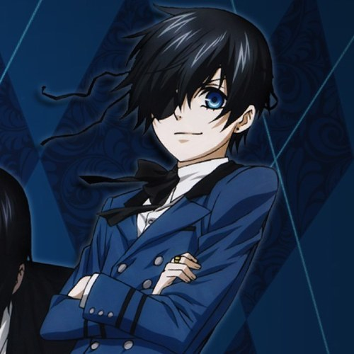 Ciel! YES, my inayopendelewa character!! (From Black Butler anyways :P)