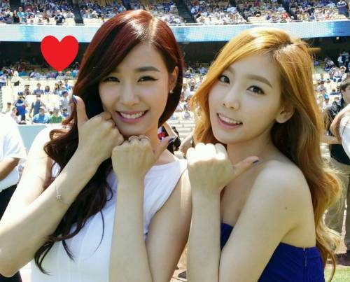 Taeyeon & Tiffany are the most beautiful <3