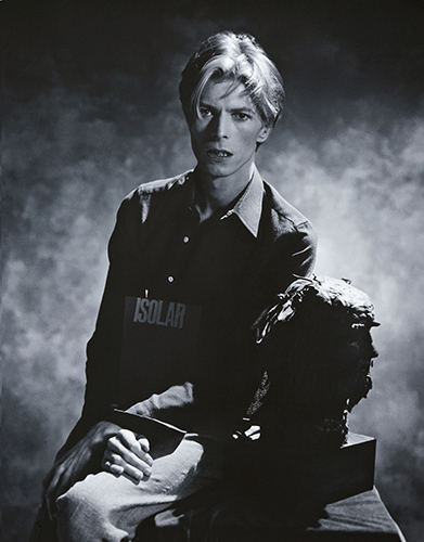 I have liked Bowie since I was little. My mum used to play his musik
