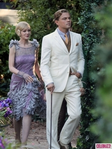 Leo and Carey Mulligan's Great Gatsby style<3