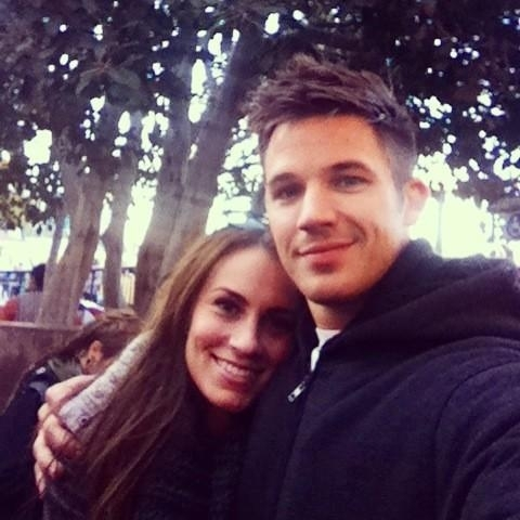 Matt with his wife,Angela<3