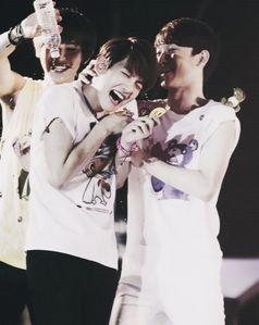 Beagle line: Chanyeol, Chen, Baekhyun