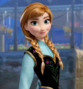 What Is Anna S Official Hair Color Disney Princess