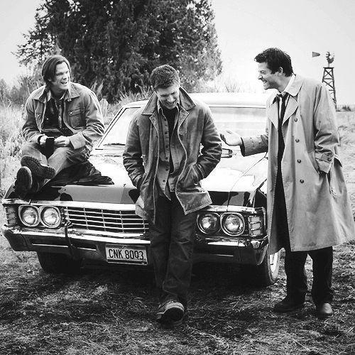 Jared, Jensen, and Misha! <3