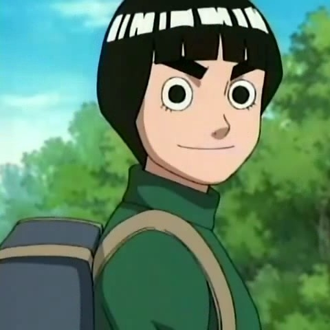 rock lee from naruto!