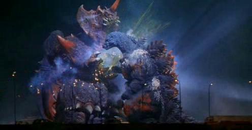 Godzilla vs. Destoroyah is my favourite fight. It was epic!