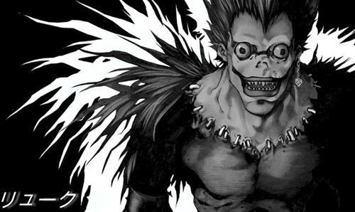 Not a Death Note shabiki but Ryuk is my inayopendelewa character