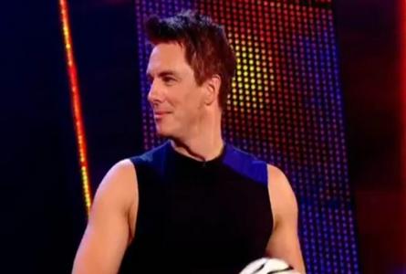 John playing football!