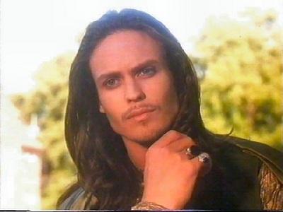 I would like get his long dark hair. Seriously!
