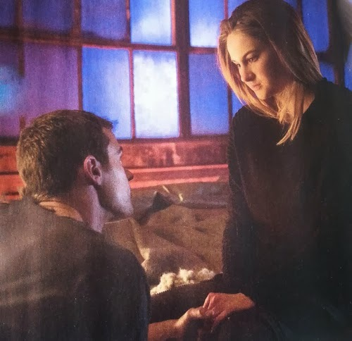 my gorgeous Theo in a room,from a scene in Divergent<3