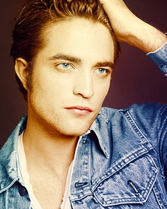 Robert's blue eyes are like liquid sapphires.I could stare into them forever<3