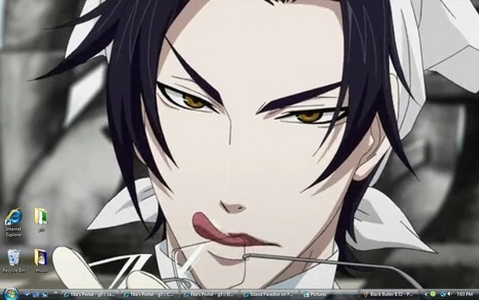 Claude Faustus from Black Butler/Kuroshitsuji I really hated his guts, but now he isn't so bad after all Even though my favorit character killed him